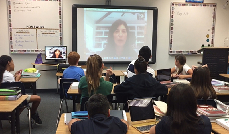 6th Grade Skype Interview
